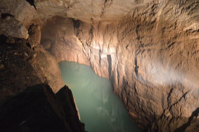 Абхазия. Новоафонская пещера